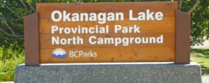Welcome to Okanagan lake provincial park-North!