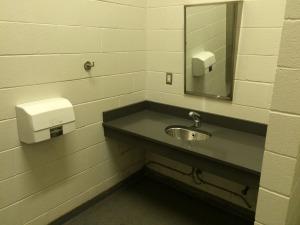 Sink at ellison wcbathroom