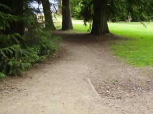 This is a great accessible pathway to the park