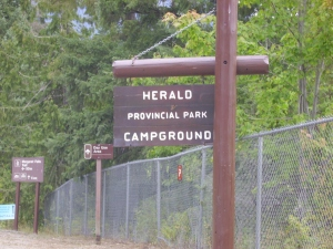 Welcome to Herald provincial Park!
